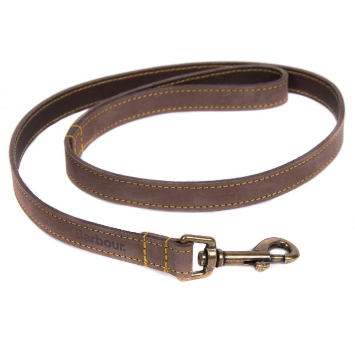 PET CHECK UK Leather dog lead