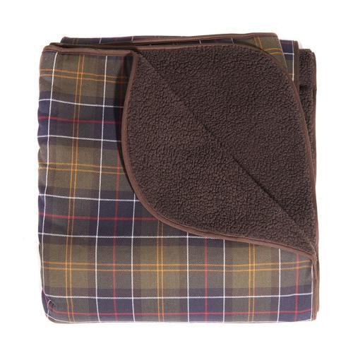 PET CHECK UK Barbour Dog check blanket
