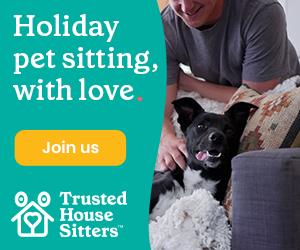 PET CHECK UK Trusted Housesitters Dog banner