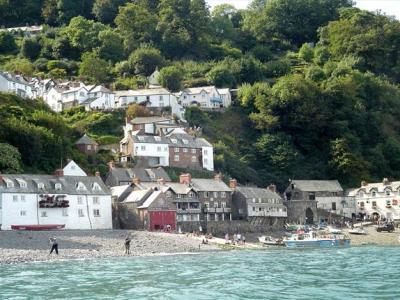 PET CHECK UK Clovelly Village and beach in Devon