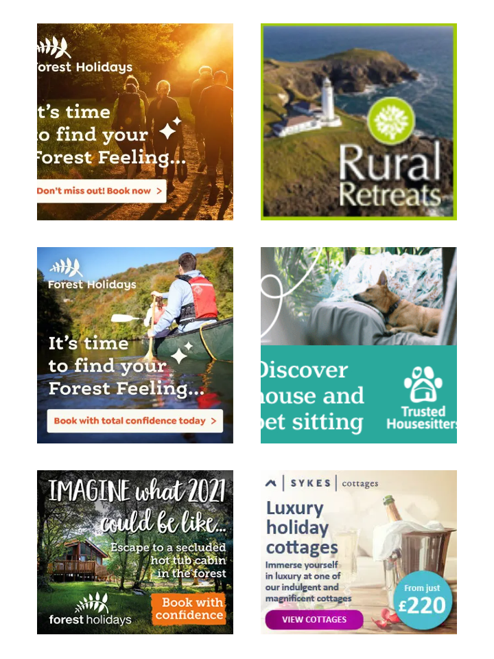 PET CHECK UK Holiday staycation banner