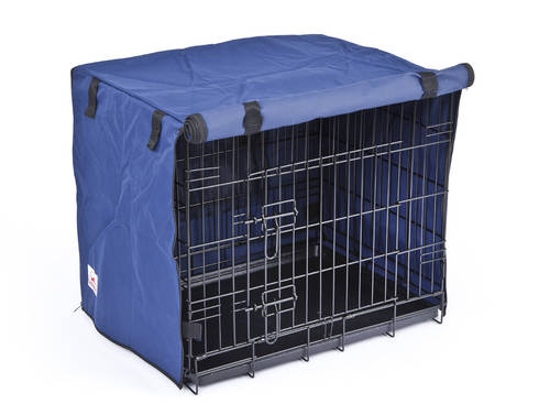 PET CHECK UK Dog or Cat covered 2 door crate