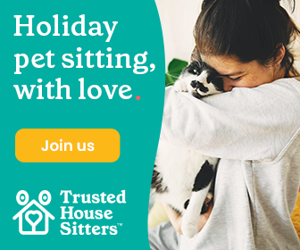 PET CHECK UK Trusted Housesitters Cat banner