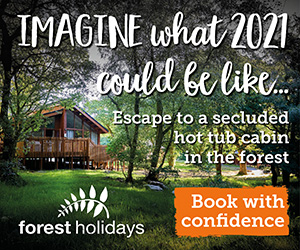 PET CHECK UK Forest Holidays Banner
