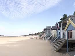 PET CHECK UK Beach huts at Wells-next sea North Norfolk